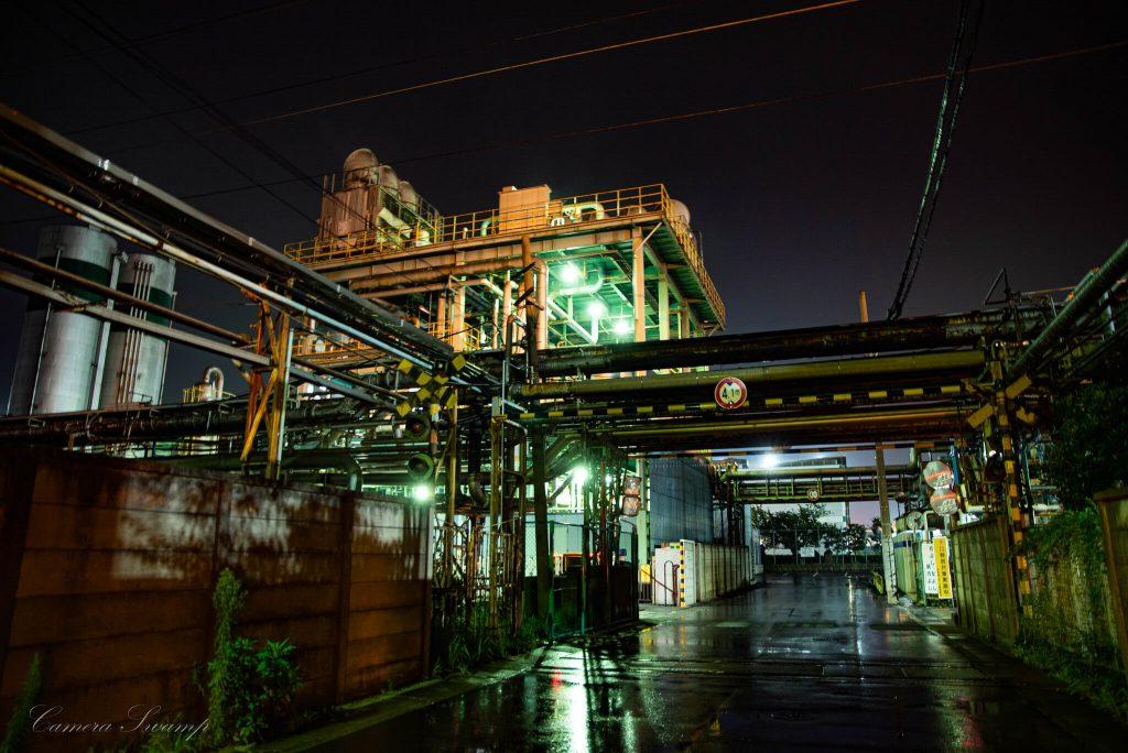 扇町 工場夜景
