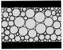 ペリカン特徴(連続気泡構造)